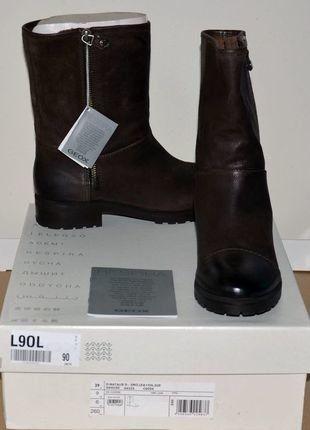 À vendre sur #vintedfrance ! http://www.vinted.fr/chaussures-femmes/bottes-and-bottines/27519156-bottines-geox-marron-neuves-p-39