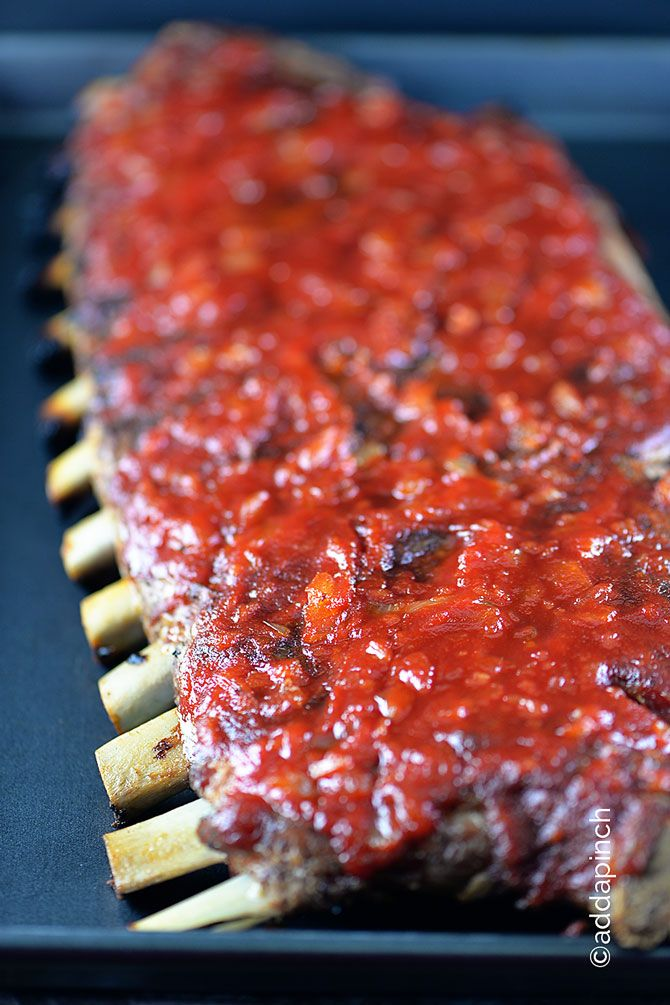 Simple BBQ RIbs ~ This recipe always makes fall off the bone, lip smacking ribs!
