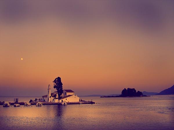 Landscapes, Seascapes & Places - fionamphotography Mouse Island Pontokonisi Corfu