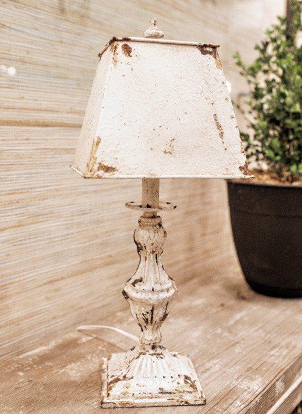 Weathered Ornate Table Lamp Set Of 2 Tablelamp Lighting Table Lamp Farmhouse Lamps Lamp