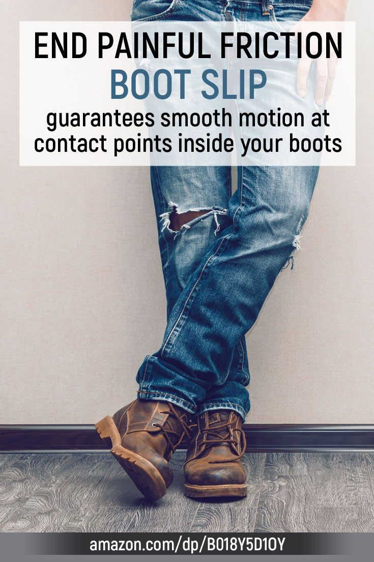 BOOT SLIP solves the #1 boot problem