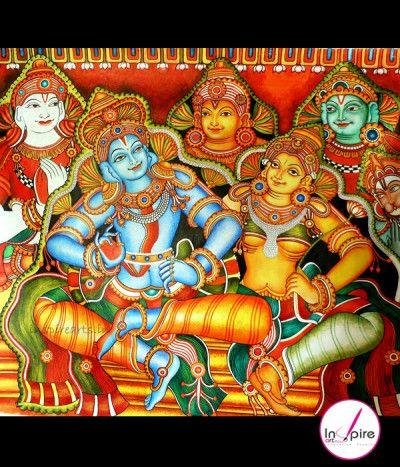 Ganesh kerala mural -