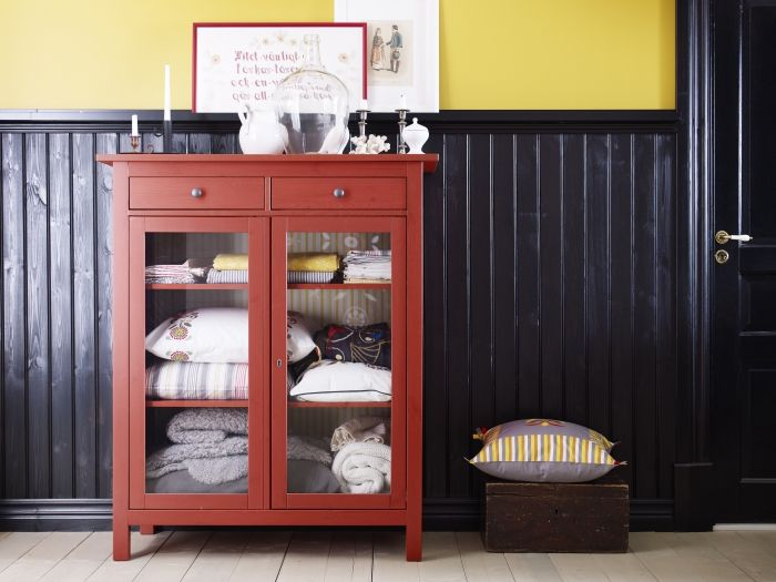 extra linens will still look beautiful while stowed away in the rh pinterest com Yellow Hemnes Linen Cabinet IKEA Linen Cabinet Tower