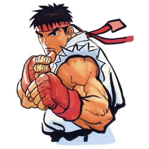 Ryu Portrait - Characters & Art - Street Fighter III