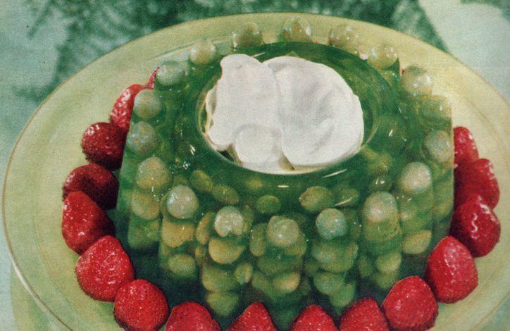 Gelatin salad: