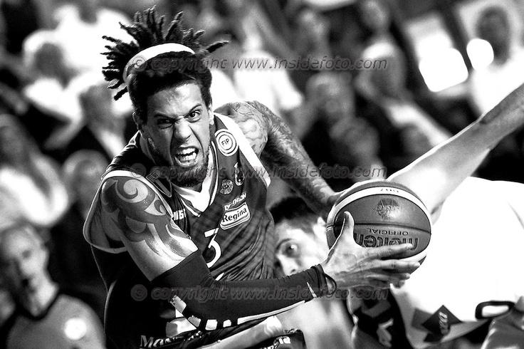 Daniel Hackett Siena 11/06/2013 Roma, Palatiziano Play Off Basket, finali gara 1. Acea Virtus Roma vs Montepaschi Siena Foto Antonietta Baldassarre / Insidefoto