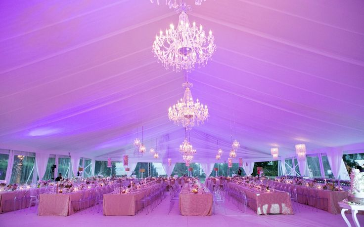 Grand Scale - Luxury Design - by Wedding Concepts #wedding #marquee #chandeliers #capetown