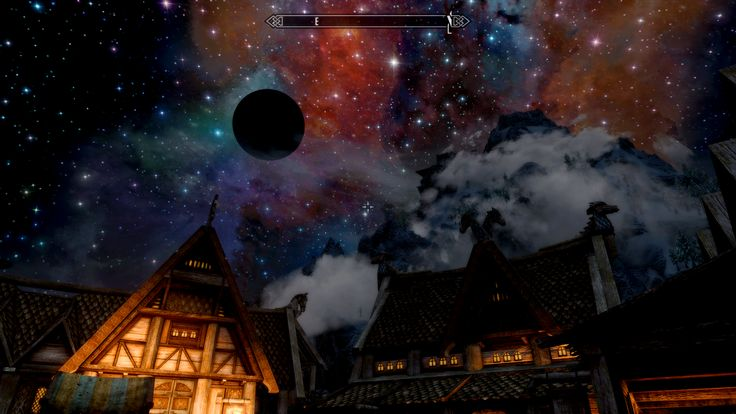 A real world-eater appeared in my solar system #games #Skyrim #elderscrolls #BE3 #gaming #videogames #Concours #NGC
