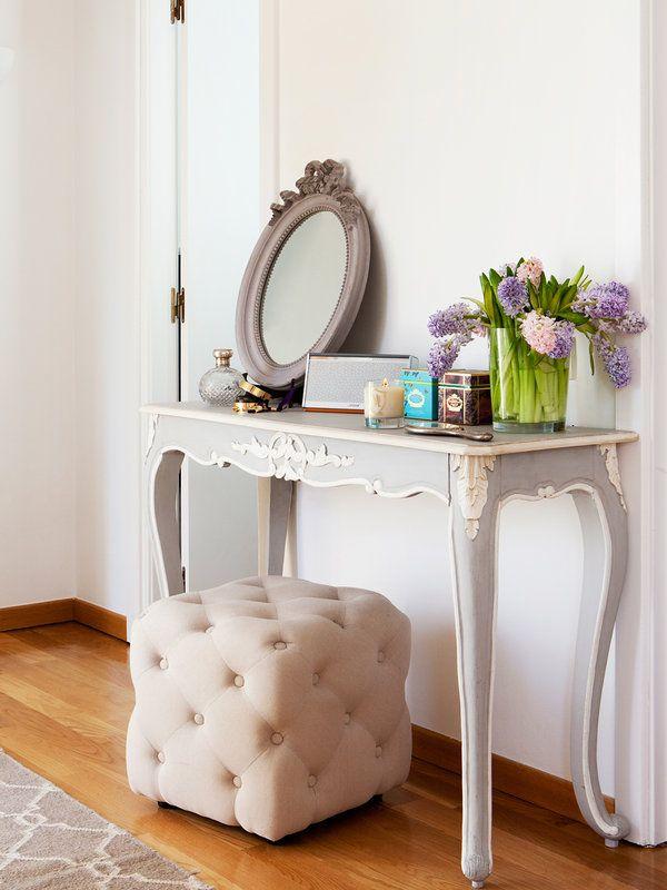 17 mejores ideas sobre tocador con espejo en pinterest - Espejos de tocador con luz ...
