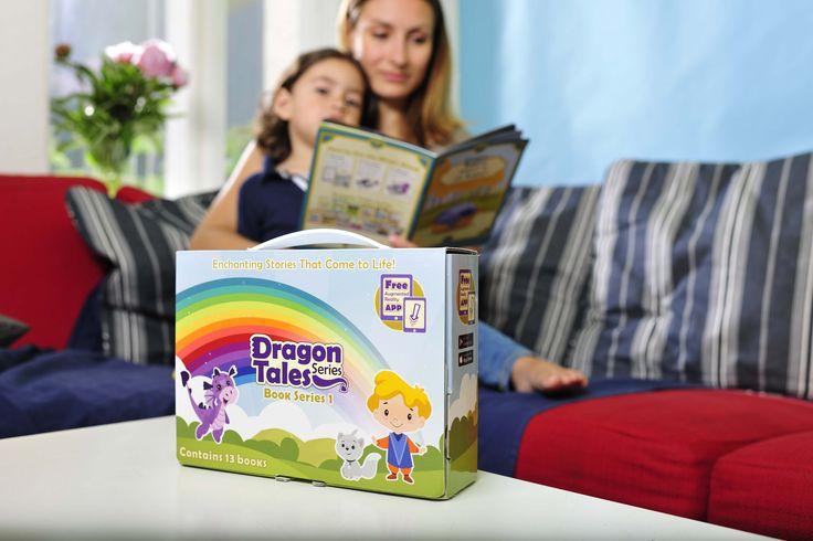 """În acest articol vă vom prezenta cele mai noi materiale care își propun să aducă poveștile în limba engleză și învățarea literelor la un alt nivel. Setul de 13 povești """"Dragon Tales"""" îi introduce pe micuții cu vârsta cuprinsă între 1 și 6 ani în lumea limbii engleze. Didi, dragonul, Sam, prințul și Fluffy, pisica,"""