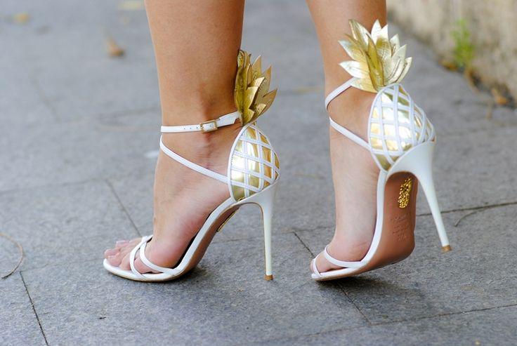 Aquazurra Pina Colada Sandals