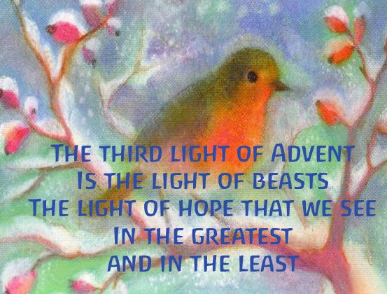 Advent ~ Week Three: The Light of Beasts ~ Verse