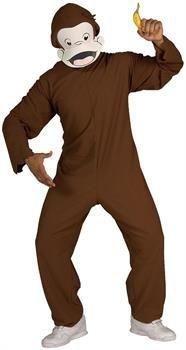 CostumePub.com - Adult Curious George Costume