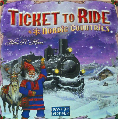 Ticket to Ride: Nordic Countries   Image   BoardGameGeek