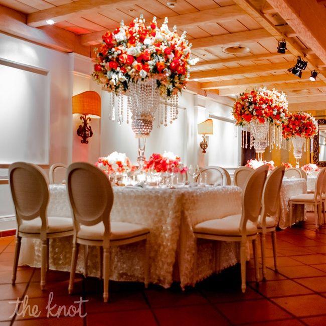 Coral Wedding Reception Ideas: 21 Best Centerpieces Images On Pinterest