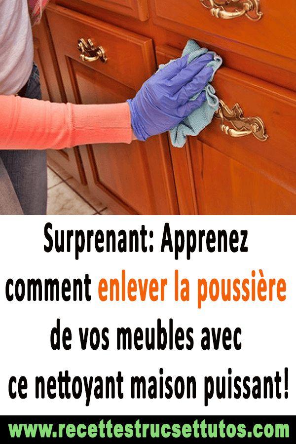 Lovely Surprenant: Apprenez Comment Enlever La Poussière De Vos Meubles Avec Ce  Nettoyant Maison Puissant!#nettoyage#trucsetastuces#astuesu2026 | Trucs Et  Astuces