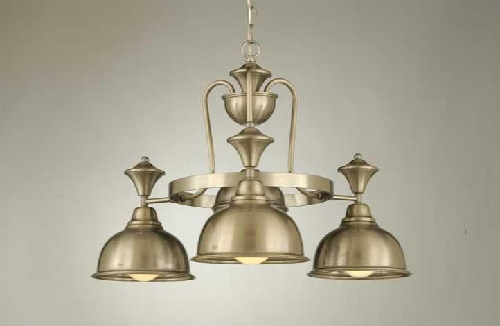 3-Light Country Chandelier