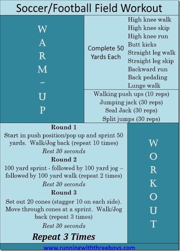 how to get fit for soccer quickly