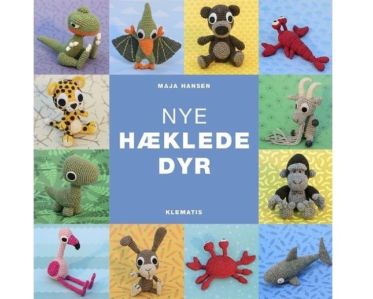 Nye hæklede dyr af Maja Hansen - Strikkepinden.com