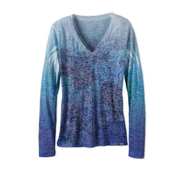 Lotus Long Sleeve T | Womens Tops | prAna
