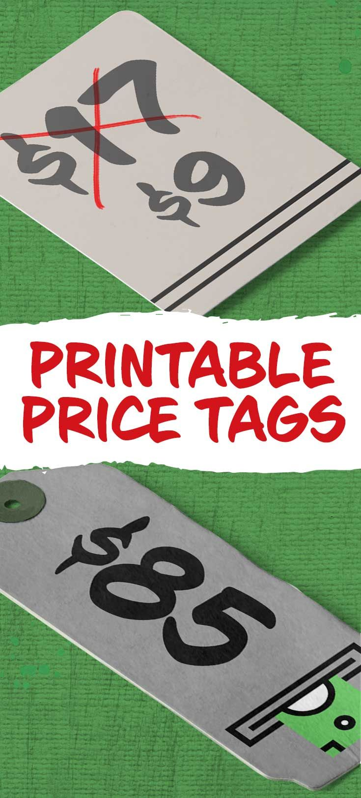 Download Free Printable Price Tags From Free Printables Online Printable Tags Template Tag Template Free Free Printables