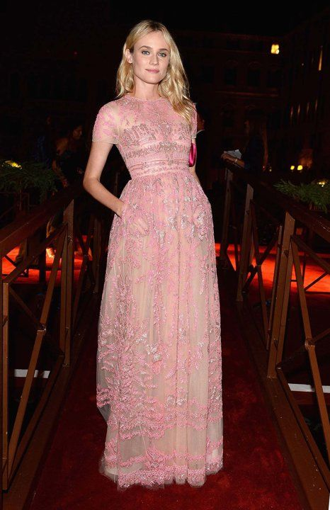 Diane Kruger in Valentino at Venice Film Festival 2013 | Discover more about Lady Marshmallow: www.ladymarshmallow.com