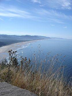 Manzanita, Oregon - Manzanita Beach off 101