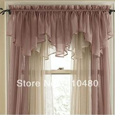 Perfect Purple Kitchen Curtains And Valances
