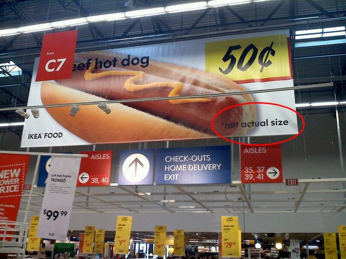 Sorry for all of you giant hotdog-lovers out there.