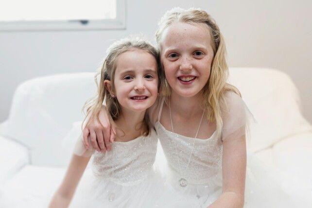 Sweet flower girls | Christchurch Wedding Photographer Mandy Caldwell Http://mandycaldwell.co.nz