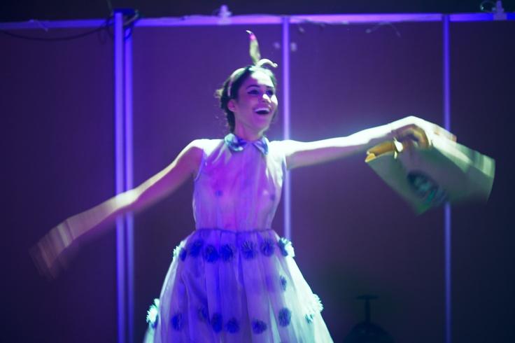 Maria Claudia, backstage Infashion - Dario Cardenas