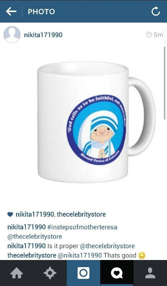 That's a great design Nikita :) Thank you for sharing it with us. #InStepsOfMotherTeresa #contest
