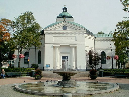 Jean Desprez, church of Hämeenlinna, 1795-98, Hämeenlinna, Finland. Neoclassical (neodoric) art and architecture.