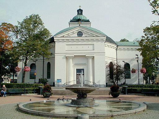 Jean Desprez, church of Hämeenlinna, 1795-98, Hämeenlinna, Finland. Neoclassical (neodoric) art and architecture.