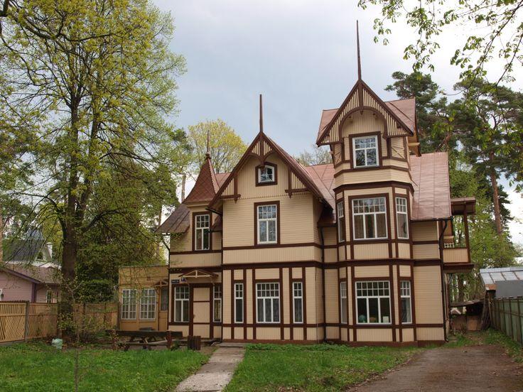 Houten villa in #Jurmala