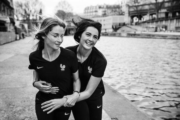 maillot noir equipe de france foot fff-black-collection femme