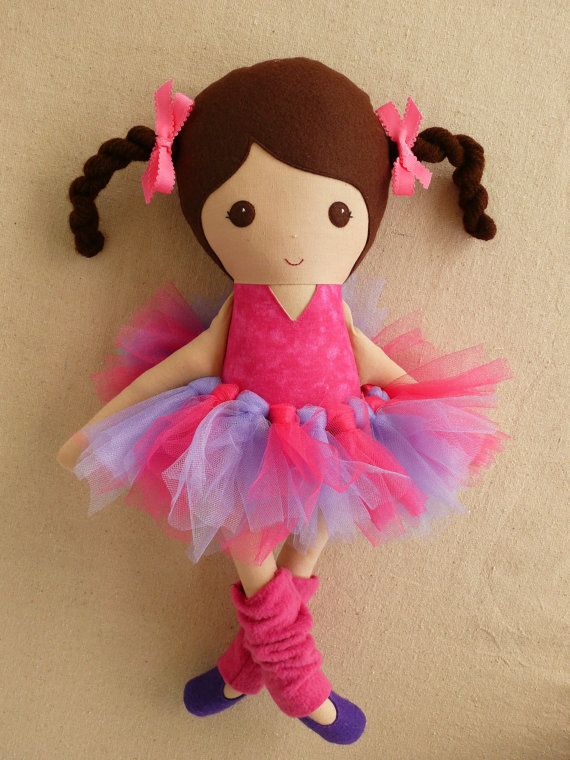 Reserved for Kimterese  Fabric Doll Rag Doll Brown by rovingovine