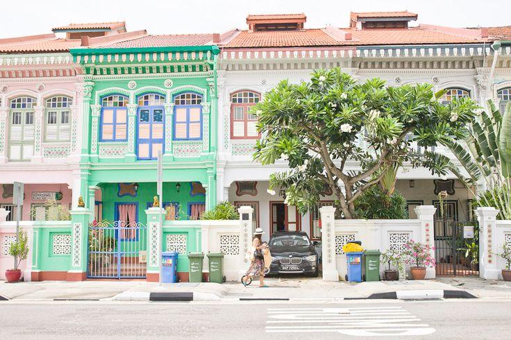 Que faire à Singapour ? Une visite incontournable : les jolies maisons de Koon Seng Road