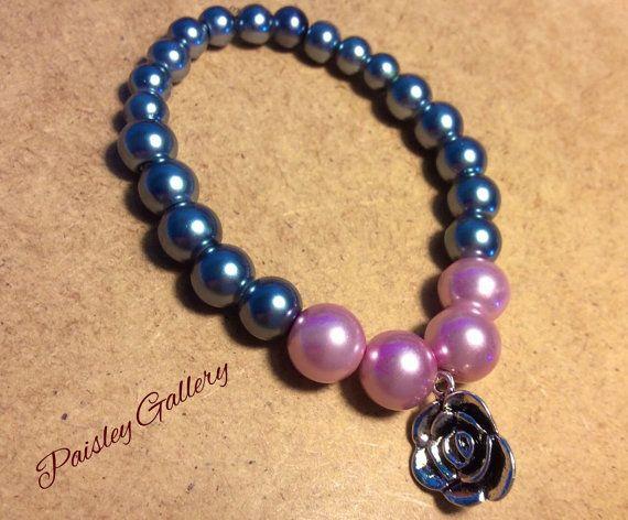 Paisly Beaded Bracelet by PaisleyGI on Etsy