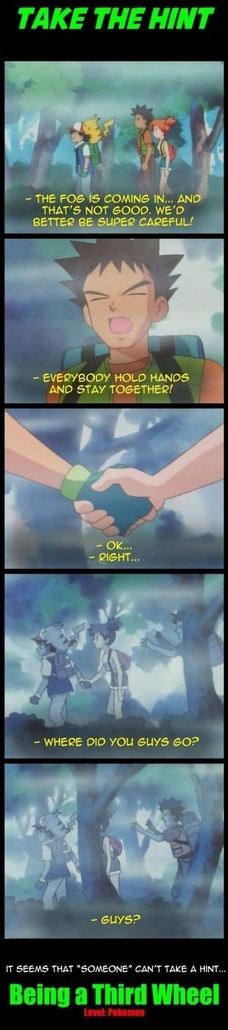 Take a hint Brock! // funny pictures - funny photos - funny images - funny pics - funny quotes - #lol #humor #funnypictures