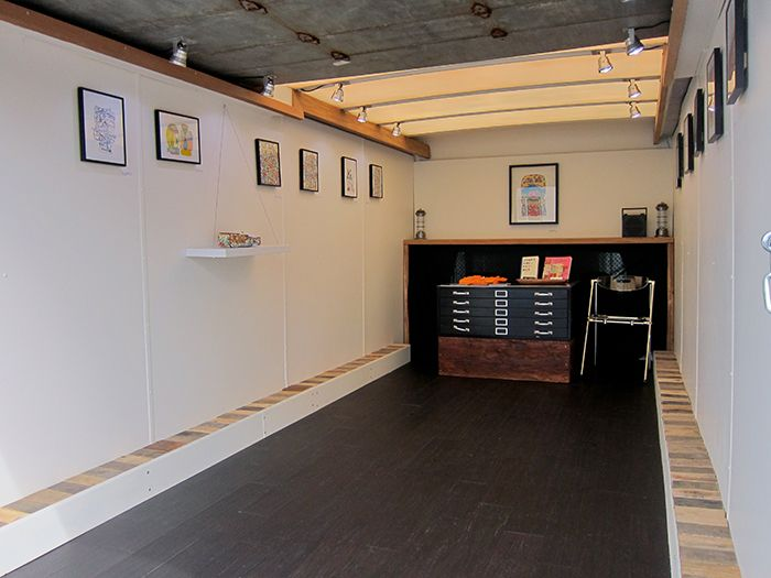 """OuterSpace Mobile Art Gallery - """"Here & There"""" - James Kirkpatrick Exhibition"""