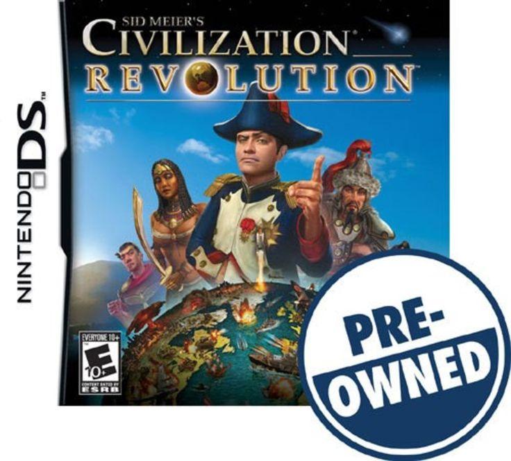 Sid Meier's Civilization Revolution — PRE-Owned - Nintendo DS