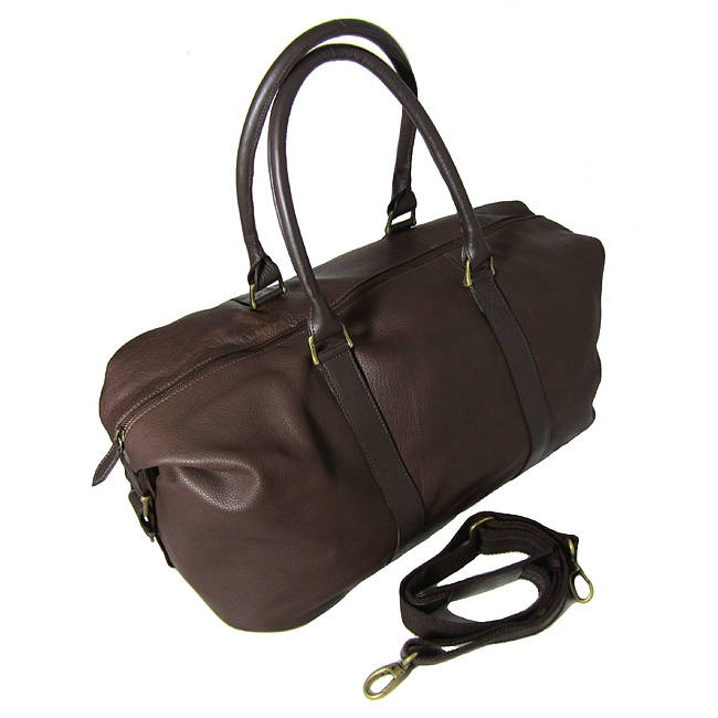 Anthony: Handmade Leather Weekend Holdall