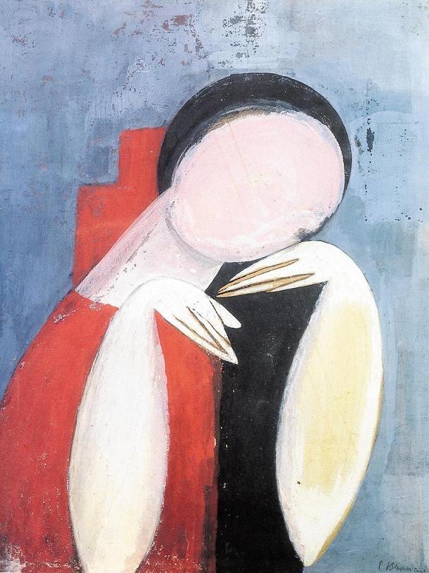 'Étude de Mlle Pogany' by Constantin Brancusi