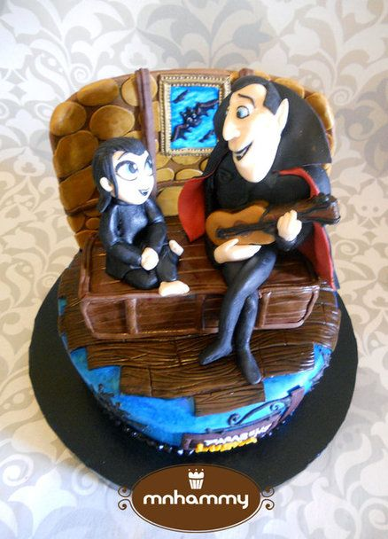 Hotel Transylvania - by mnhammy @ CakesDecor.com - cake decorating website