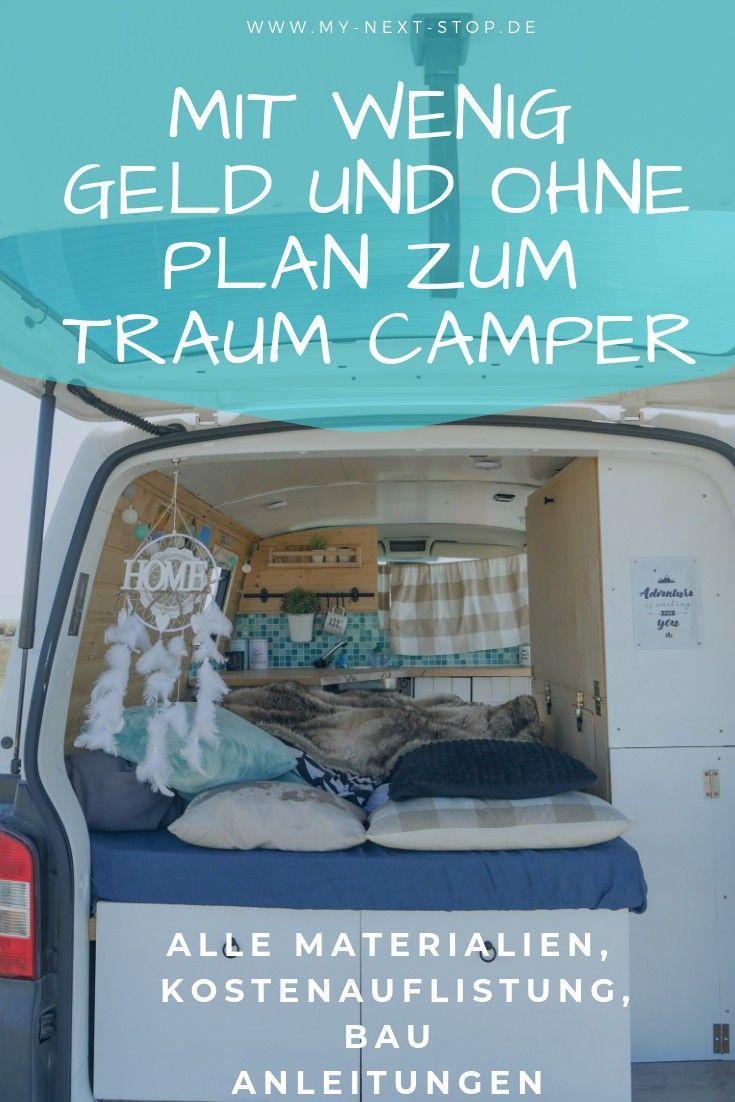 T5 Camper Ausbau – simpel und günstig zum Traum Camper