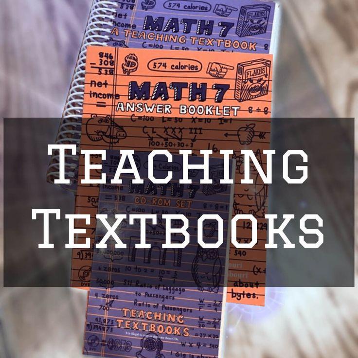 Teaching Textbooks Math Curriculum
