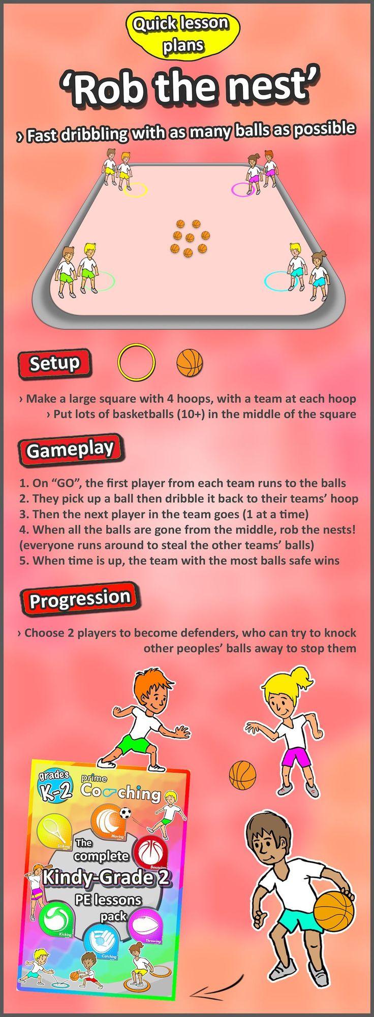 Kindergarten to Grade 2 PE Games - Complete Sport Skill ...