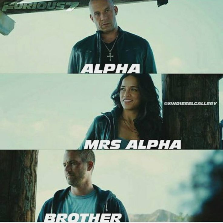 Fast and Furious @fast.family.forever - Mr alpha Mrs alpha. #VinD...Yooying