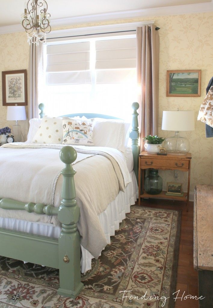 Guest Bedroom Decorating - A Welcoming Makeover - Finding Home